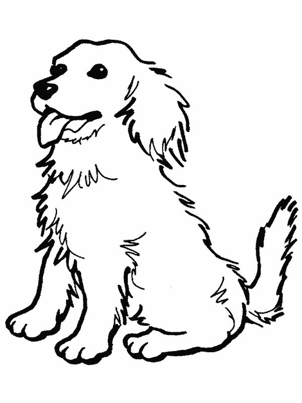 Dog Coloring Pages For Kids at GetDrawings.com | Free for ...