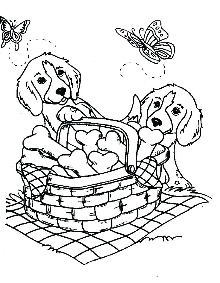 736x948 Free Animal Coloring Pages Dog Coloring Pages S S Dog Coloring