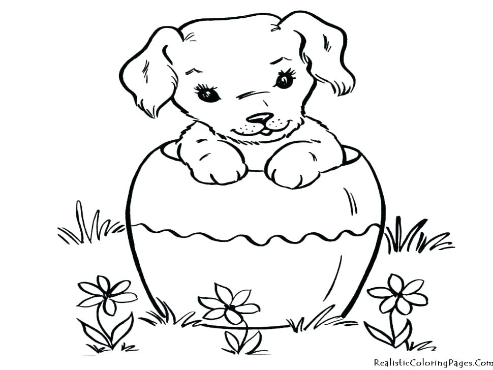 970x728 Puppy Coloring Pages To Print Puppy Dog Coloring Pages Dog