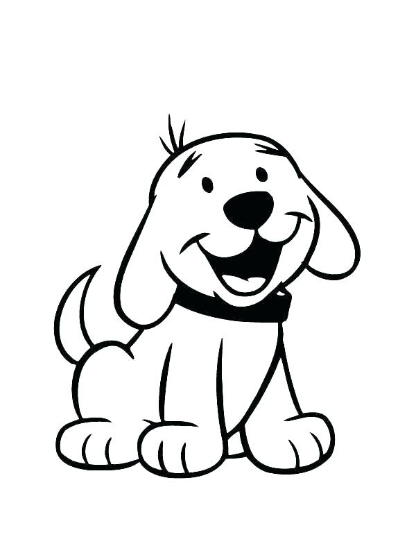 600x800 Dog Coloring Pages Printable Icontent