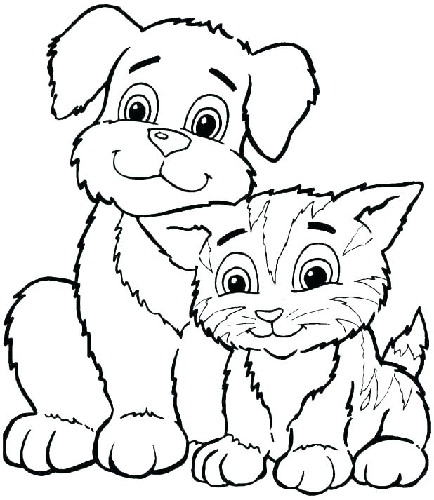 618x713 Coloring Pictures Of Dog Coloring Dog Coloring Pages For Kids Dog