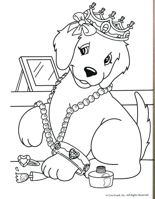 500x641 Dog Coloring Pages Free Online Free Frank Coloring Pages Frank Dog
