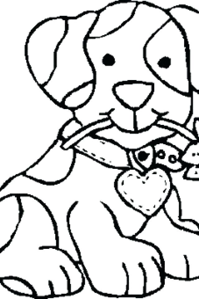 640x960 Coloring Pictures Of Dog Coloring Dog Coloring Pages For Kids Dog
