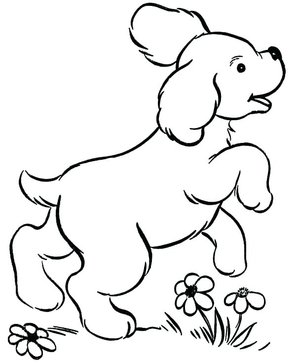 600x734 Dog Coloring Pages Printable As Well As Dog Coloring Sheets Free