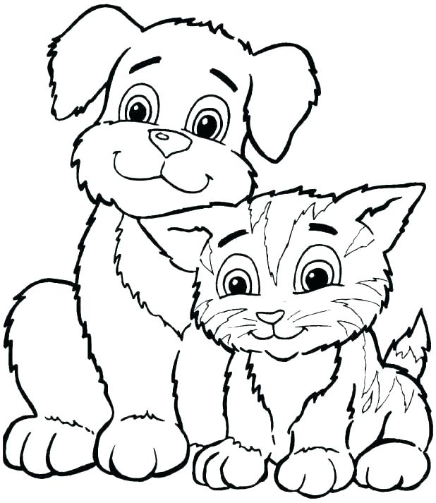618x713 Free Coloring Pages Of Dogs Free Printable Dog Coloring Pages Dog