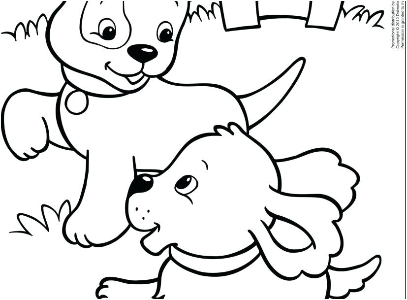 827x609 Puppy Coloring Pages To Print Free Printable Puppy Coloring Pages