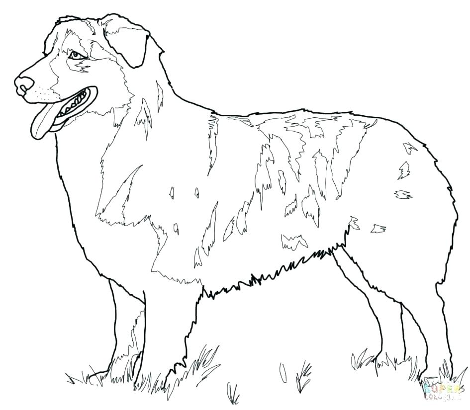 945x825 Shepherd Coloring Page Printable German Shepherd Dog Coloring