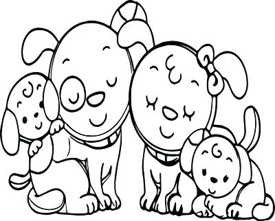 400x322 Coloring Page Animals Family Coloring Pages Animals Coloring