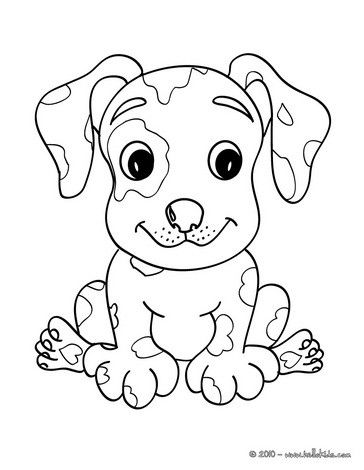 364x470 Dog Coloring Pages