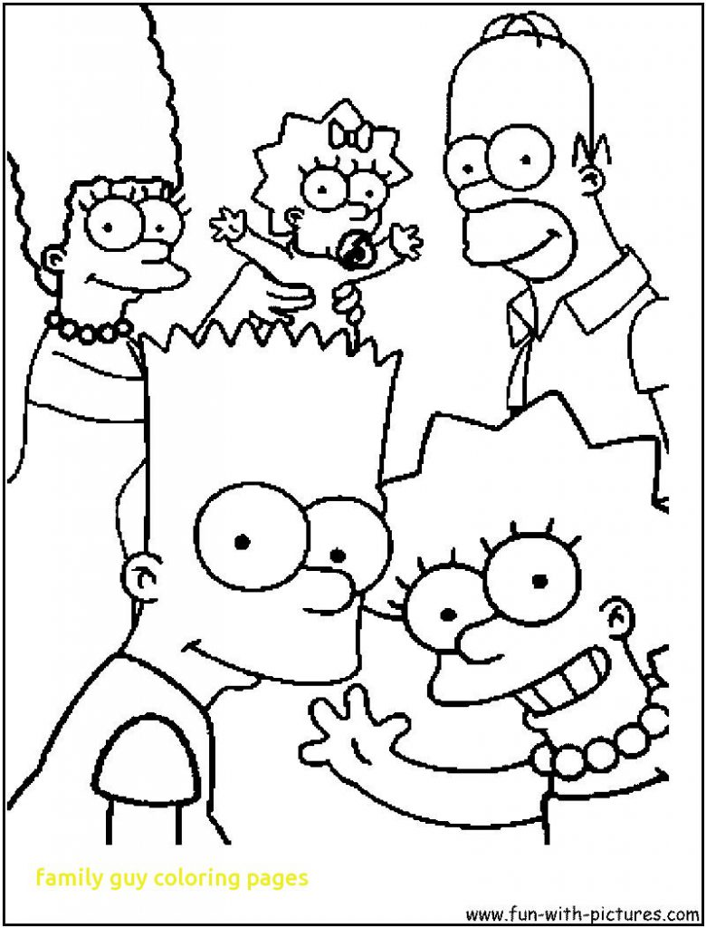 780x1024 Awesome Family Guy Coloring Pages To Print Kid