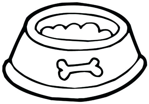 Dog Food Coloring Pages