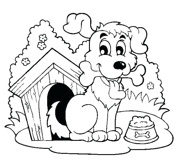 600x569 Free Coloring Pages Dog House Bulldog Sheet Page Of Synthesis Site