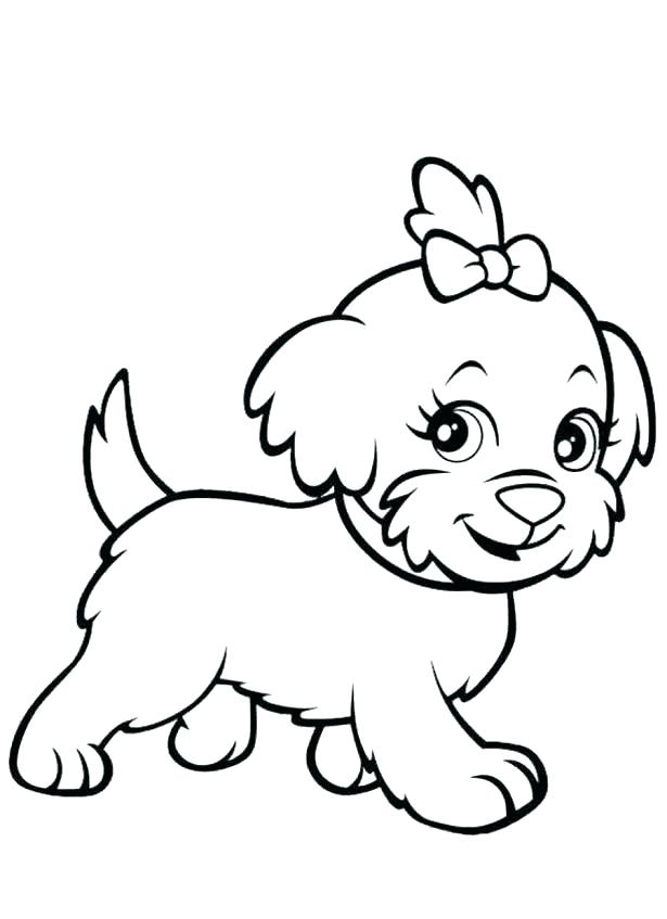615x847 Printable Dog Coloring Pages Printable Dog Coloring Pages Dog