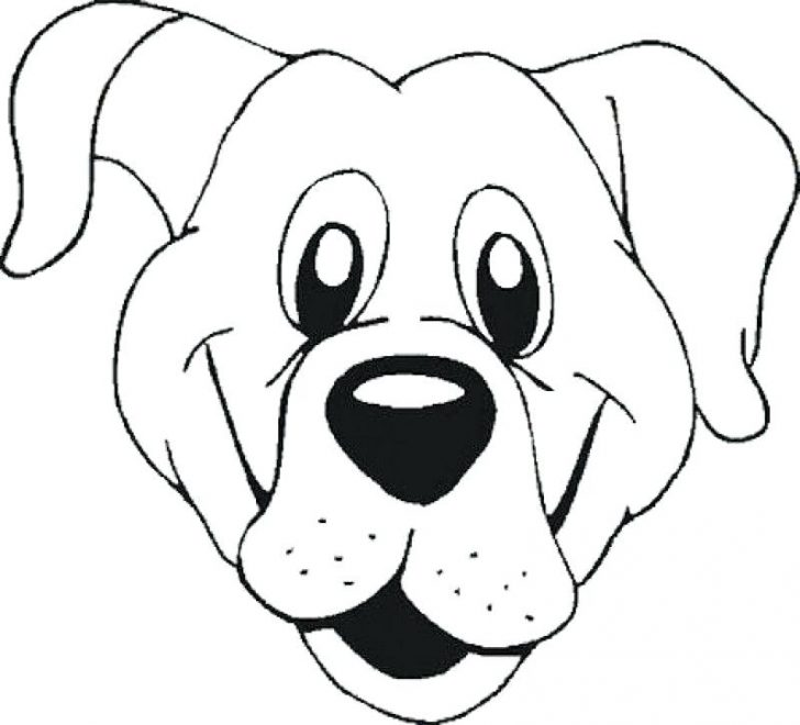 728x660 Coloring Pages Of Dog Head