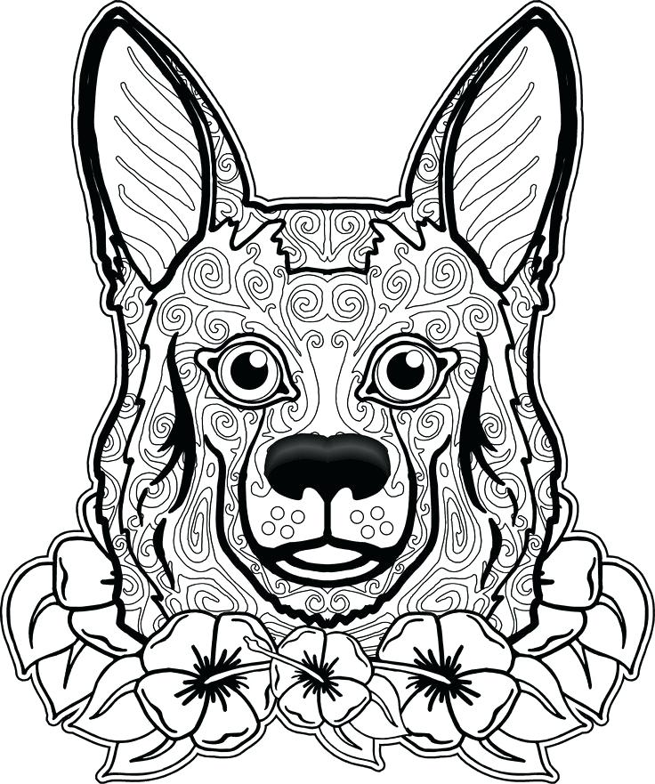 736x881 Dog Coloring Book Pages Dog Coloring Page Dog Coloring Pages Free