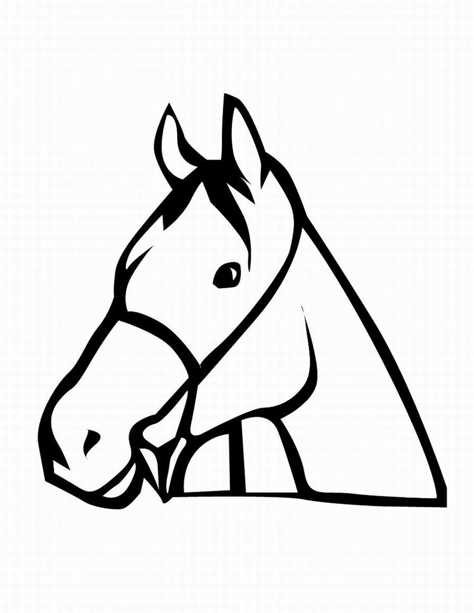 938x1213 Dog Head Coloring Pages Animal Of Pagestocoloring Arresting Horse