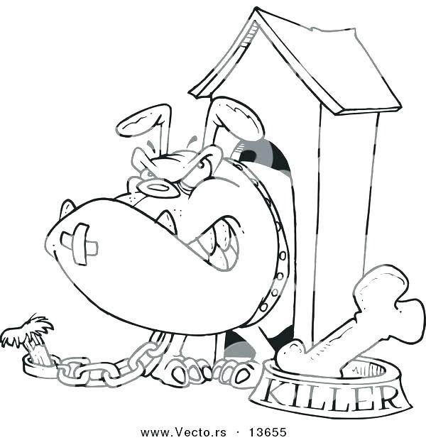 600x620 Dog House Coloring Pages Home Coloring Page Dog Dog House