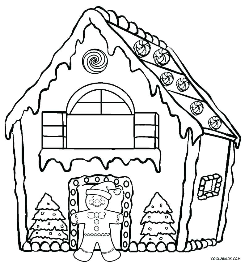 793x850 House Coloring Pages Printable Houses Coloring Pages Printable Dog