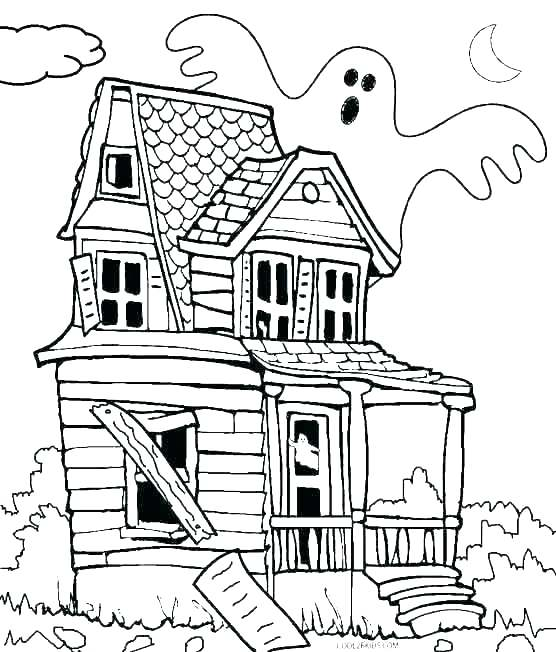 556x652 Coloring Pages Of Houses Dog House Coloring Page Coloring Page