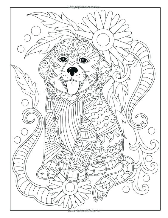 564x729 Coloring Pictures Of Dog Coloring Pages Of Baby Dogs Coloring