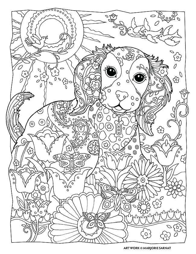 650x841 Mandala Coloring Cat Coloring Pages Of Dogs Also Art Therapy