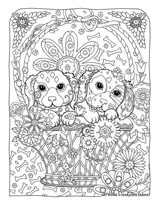 Dog Mandala Coloring Pages at GetDrawings   Free download