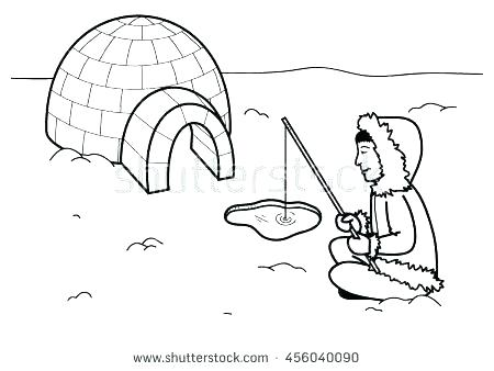 Dog Sled Coloring Pages