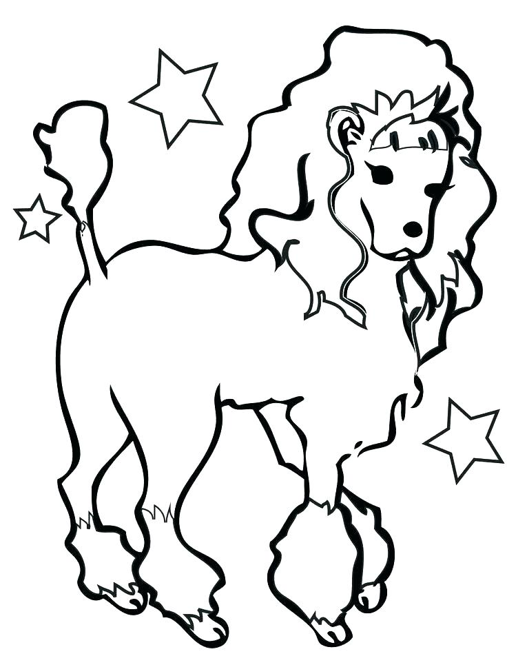 736x952 Printable Dog Coloring Pages Coloring Page Of Dog Dog Coloring