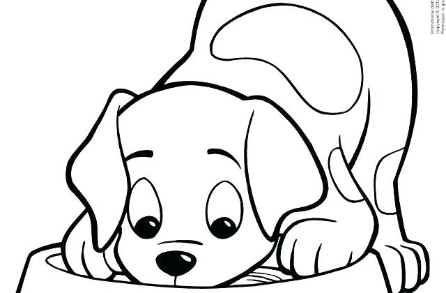 640x420 Printable Puppy Coloring Pages Dog Printable Coloring Pages