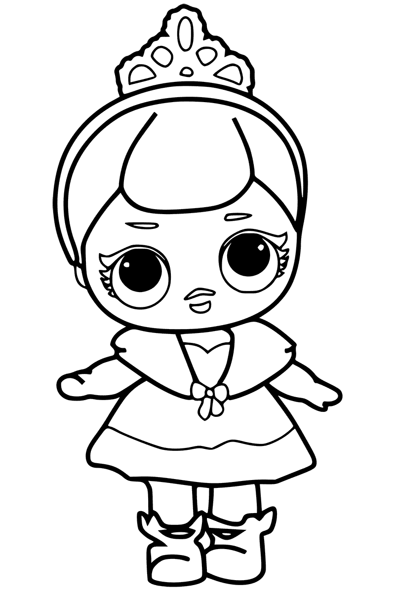 800x1200 Lol Surprise! Doll Coloring Pages