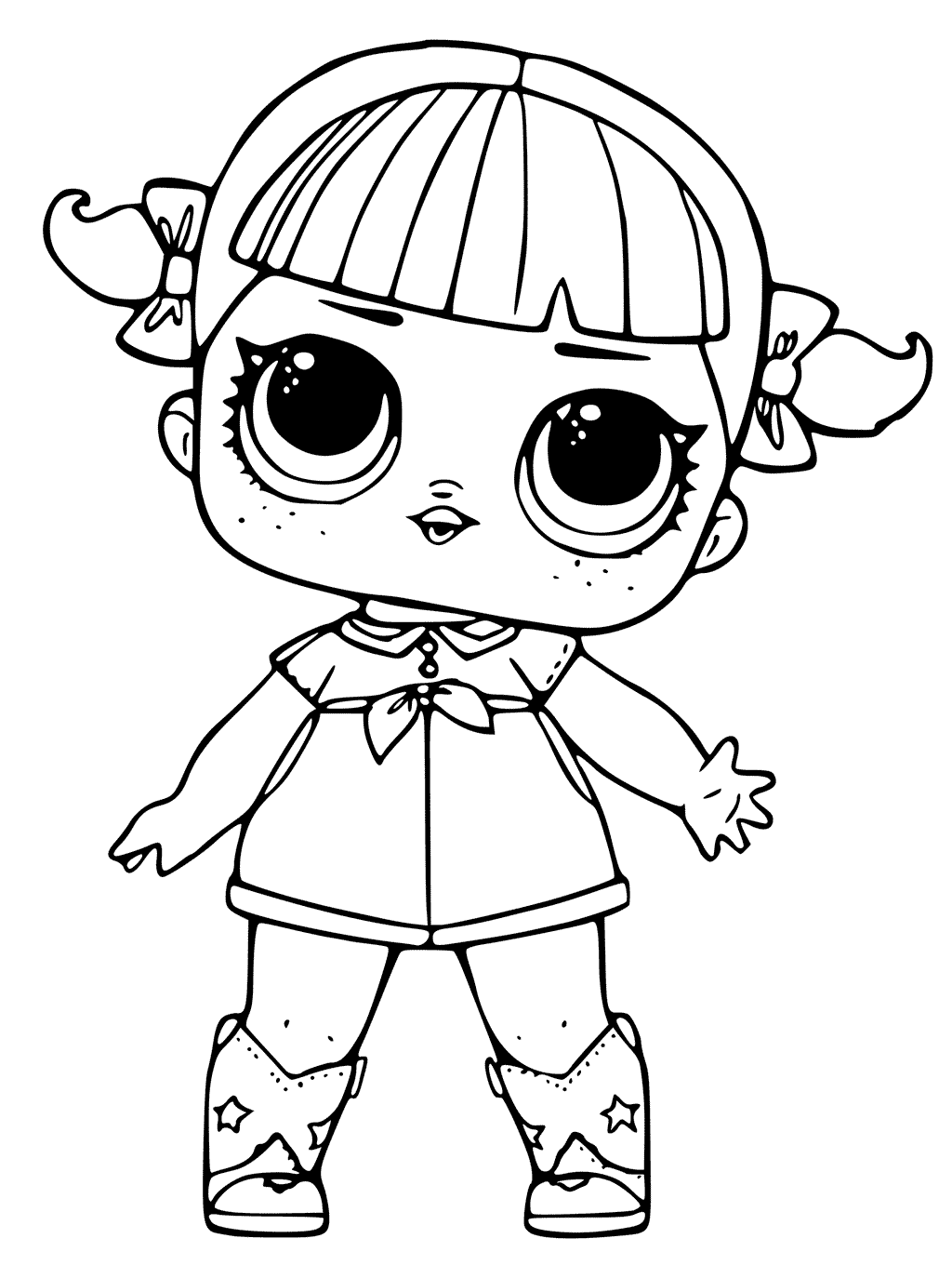 1024x1360 Lol Surprise Doll Coloring Pages