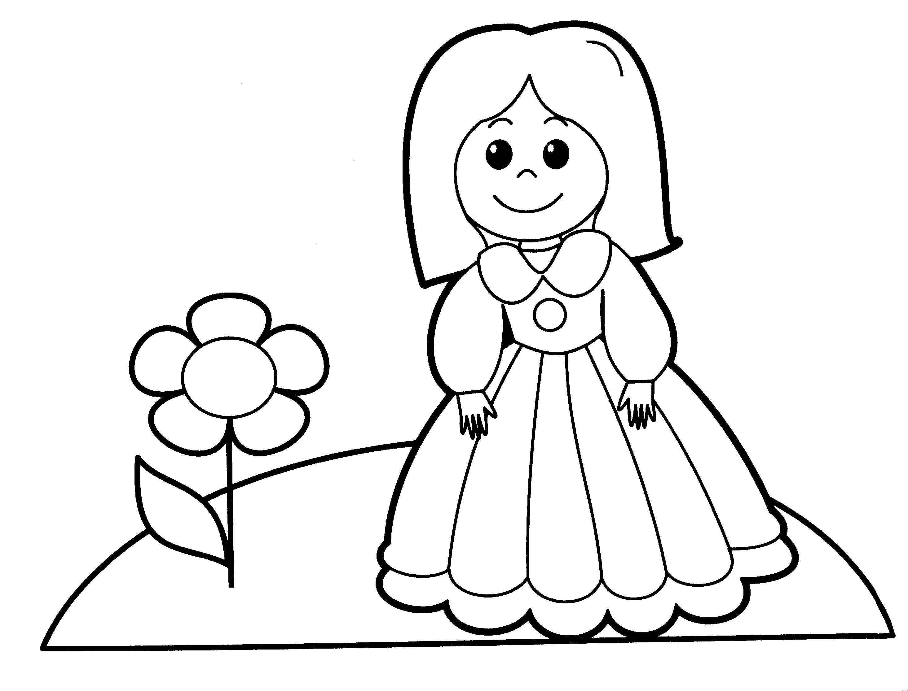2930x2232 New Baby Doll Coloring Page Gallery Printable Coloring Sheet