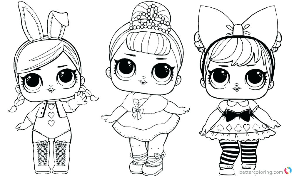 Doll Coloring Pages At Getdrawings Com Free For Personal