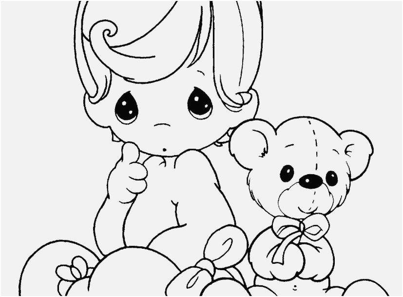 Doll Coloring Pages Printable At Getdrawings Com Free For Personal