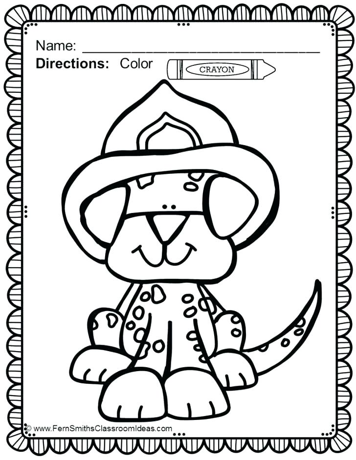 728x942 Dollar Coloring Page Safety Coloring Pages Fire Safety Coloring