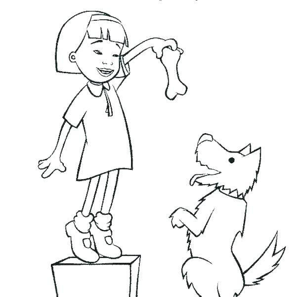 611x600 Little Bill Coloring Pages