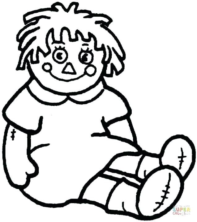 637x720 Doll Coloring Pages Doll Vintage Paper Doll Coloring Pages