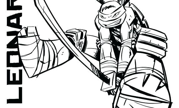 572x345 Ninja Turtle Color Pages Coloring Pages Teenage Mutant Ninja