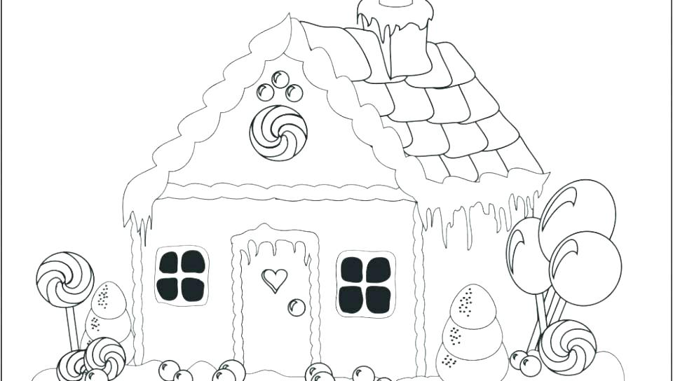 960x544 Printable Dollhouse Coloring Pages White House Page The Colouring
