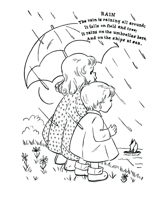 670x820 Jack And Jill Nursery Rhyme Coloring Page Pages Miss Had A Dolly