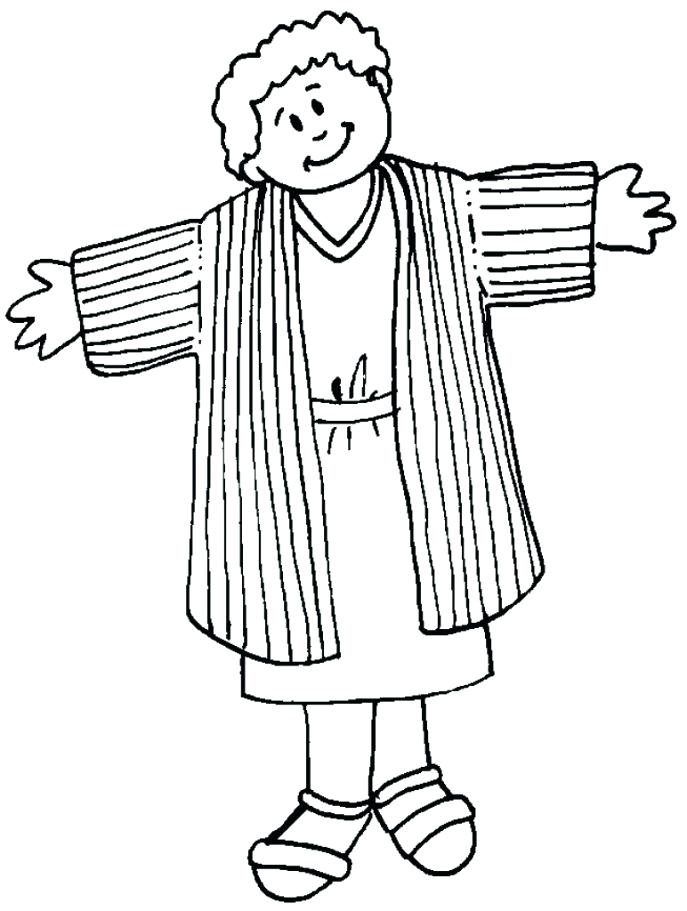 687x911 Joseph Coat Of Many Colors Coloring Page Medium Size Of Many