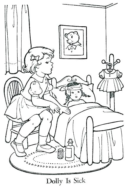 441x640 Sharing Coloring Page Sick Coloring Pages Sharing Coloring Page