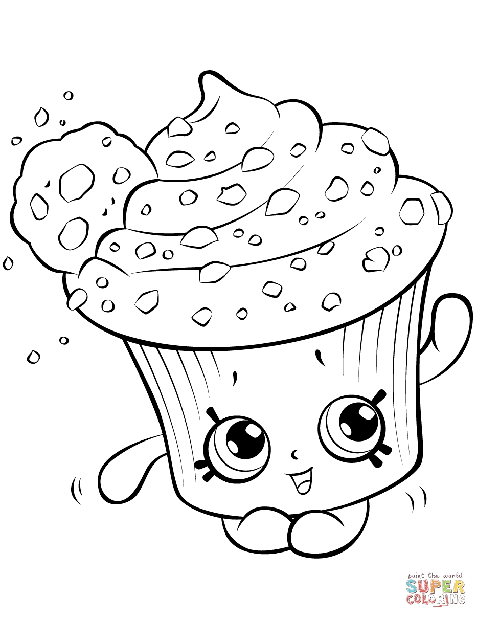 933x1208 Shopkins Coloring Pages Dolly Donut Printable