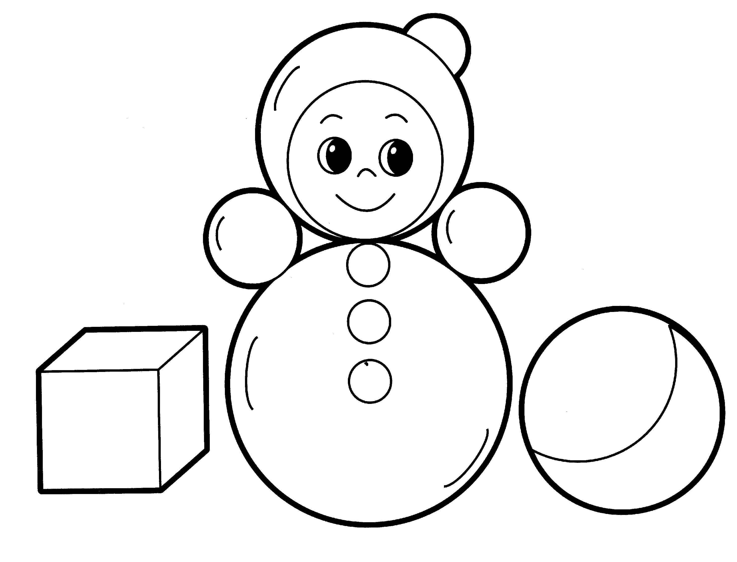 2930x2232 Coloring Page Toys