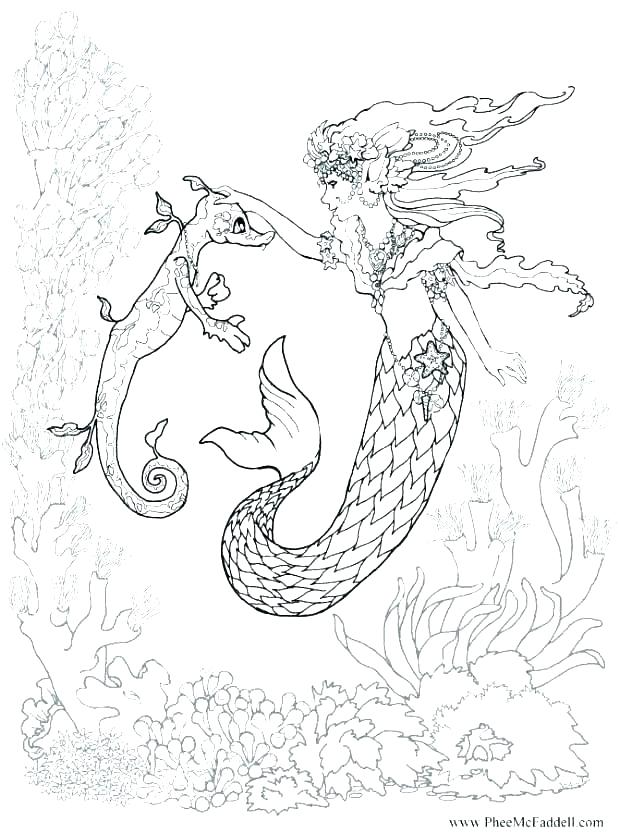 619x832 Coloring Pages Dolphins Mermaids Mermaid Color To Print Warrior