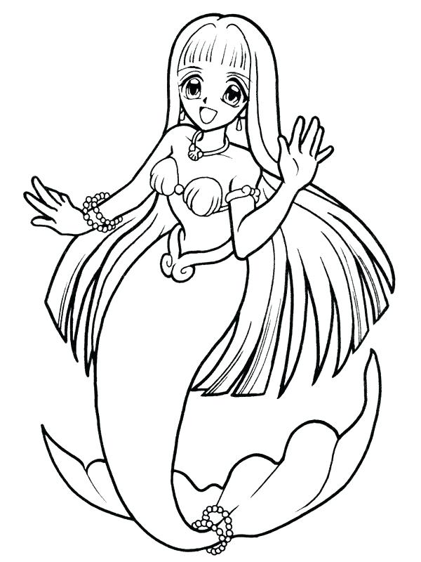 600x800 Coloring Pages Mermaids Rides Dolphin Little Mermaid Coloring