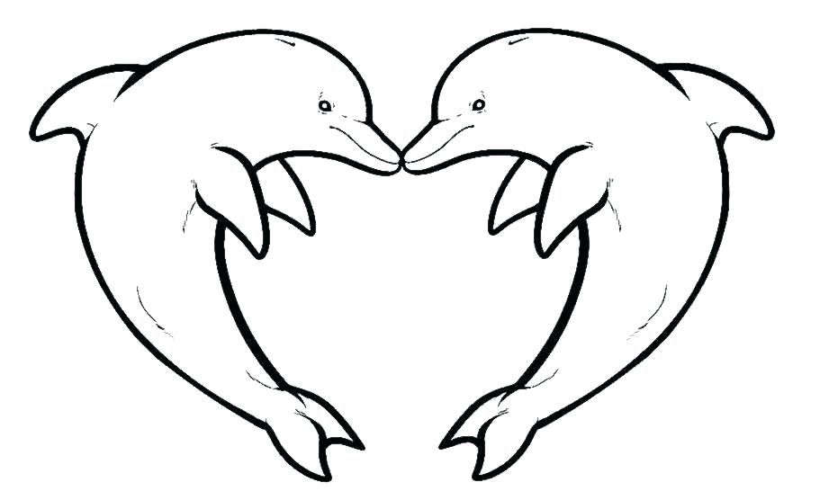 911x556 Miami Dolphins Coloring Pages Dolphin Color Pages Funny Dolphin