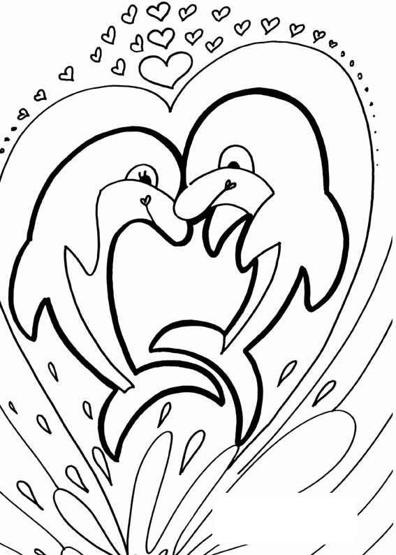 567x794 Dolphin Coloring Pages Free Printable Free Coloring Pages