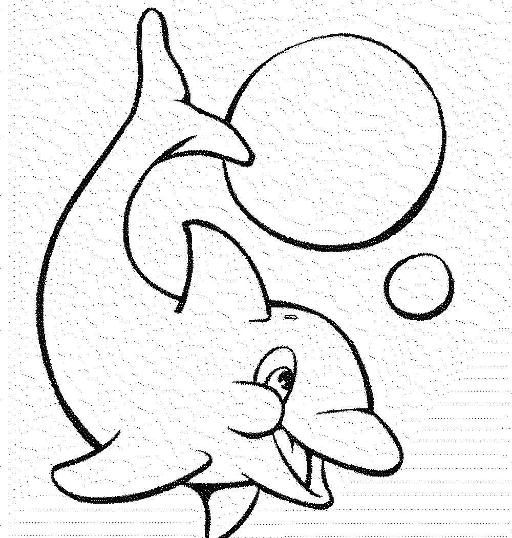 1000x1050 Free Dolphin Coloring Pages Of Printable General For Kids To Color