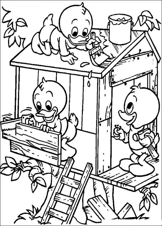 567x794 Donald Duck Coloring Pages Donald And Daisy Duck Printable